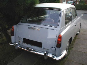 old Austin A40 farina