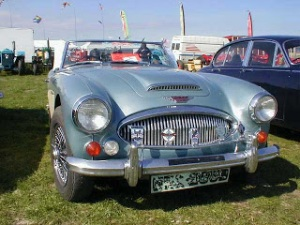 old Austin Healey 1960
