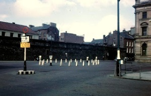 OLD Derry Walls Guildhall 1965 - Copy