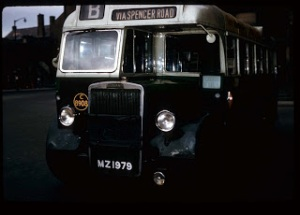 old Old Ulster Bus 1964